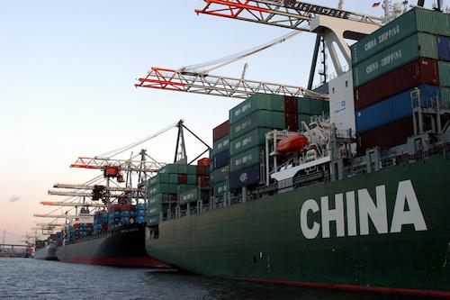 Доставка грузов морем из Китая в Россию